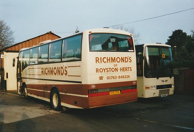 Richmond's 426 YRA and 153 WAR in Barley - Mar 1998 382-07