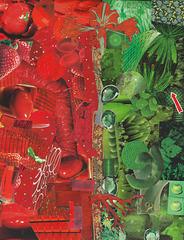 le rouge et le vert (deux)