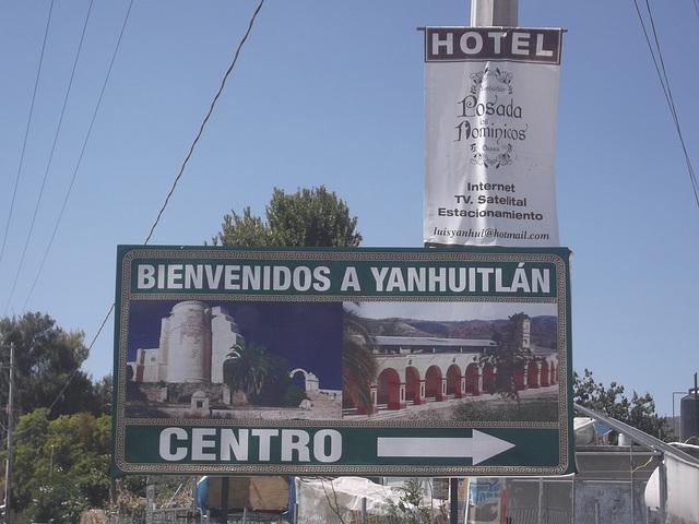 Bienvenidos a Yanhuitlán !