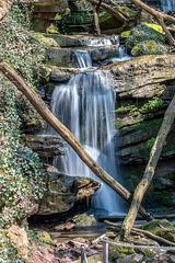 Small Waterfall / Kleiner Wasserfall in der Margarethenschlucht
