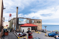 Fitger's is listed on the National Register of Historic Places. The brewery's industrial smo   kestack and water tower now carry the Fitger's name and star logo as regional landmarks.    (PARA JORDI)