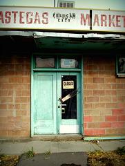 Pastega's Market, abandoned
