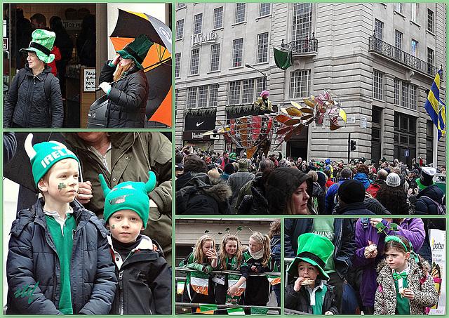St. Patrick's Day in London