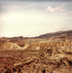 Paysage de l'Espagne de 1986