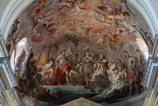 Painted Nave ceiling