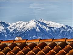 Über den Dächern von Leucate