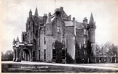 Brucklay Castle, Aberdeenshire (now a ruin)