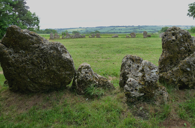 Oxfordshire View from the Rollright Stones