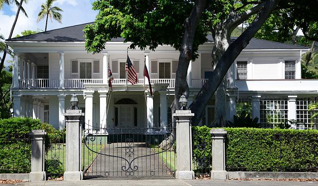 Washington Place, The Hawaii Governor's Mansion
