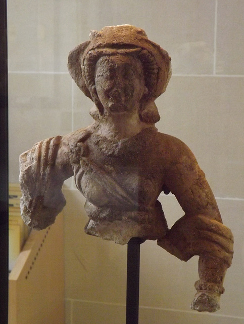 Bust of Woman (Probably Artemis) from Dura-Europos in the Louvre, June 2013
