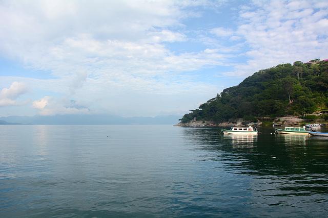 Guatemala, North Shore of the Lake of Atitlan