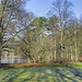 Schöner Wintertag im Stadtpark