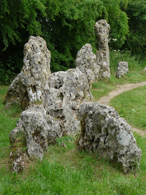 A Group of Rollright Stones
