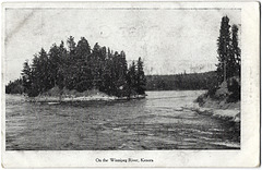 KN0395 KENORA - ON THE WINNIPEG RIVER