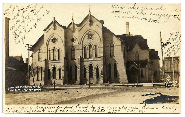 WP1867 WPG - CONGREGATIONAL CHURCH