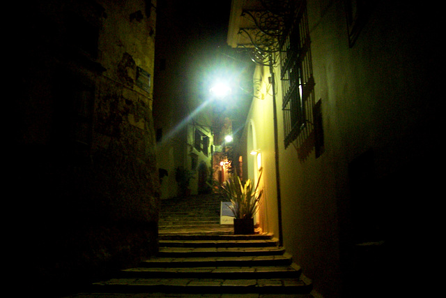 GR - Chania - Old Town by night