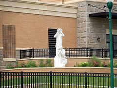 HFF -- Building and Statue, Yankton, South Dakota