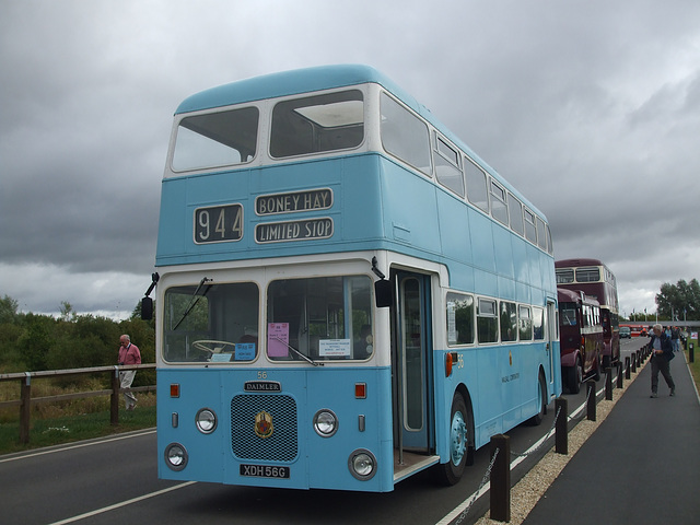 DSCF4702 Walsall Corporation XDH 56G - 'Buses Festival' 21 Aug 2016