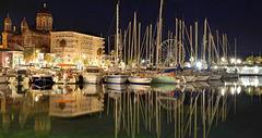 SAINT-RAPHAEL: Le port de nuit 012