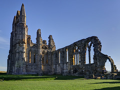 Whitby Abbey Church - North Transept and Nave wall