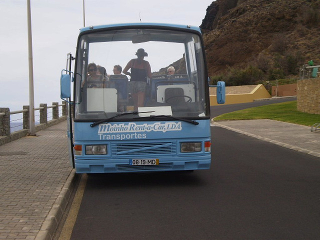 The 1990 Volvo of the touristic tour.