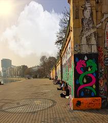1 (50)a...austria ..vienna...am kanal..street graffiti