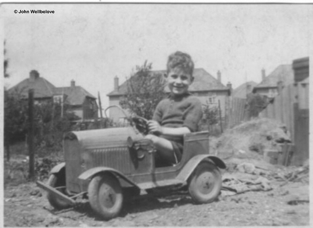 My first Car in our Garden 1937 Opposites - Young