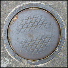 Bedford Place coal hole cover