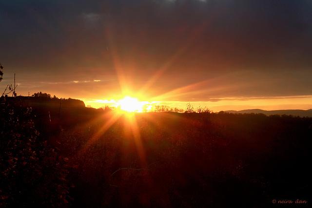 soleil couchant pour vous