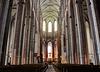 Hauptschiff der Lübecker Marienkirche...