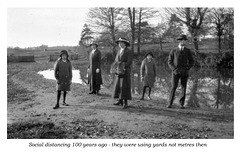 social distancing c 1915
