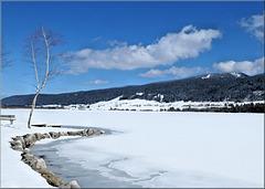 Lac des Rousses (39) 19 mars 2019.