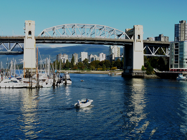 Burrard Bridge and False Creek