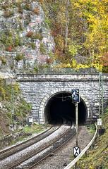 ...am Mühlener Tunnel