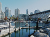 View Down False Creek from Granville Island