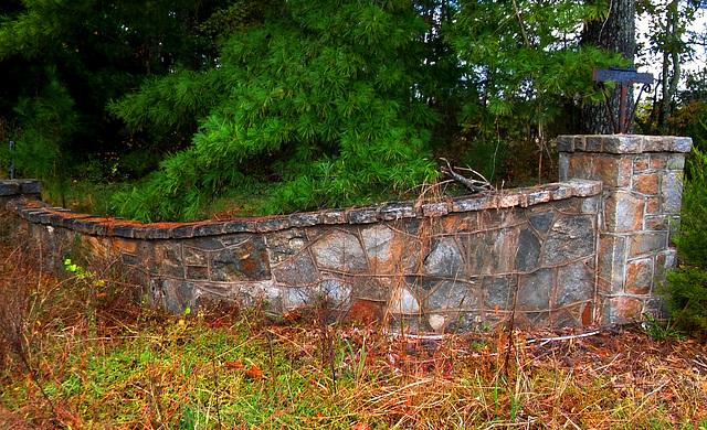 Forgotten wall, Oct. 2017