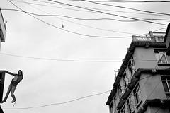 Une rue de Katmandou