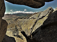 Rock window, Sierra de La Cabrera