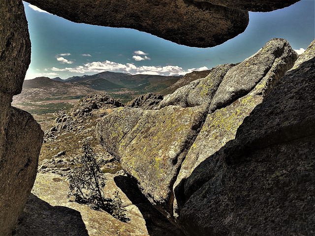Rock window, Sierra de La Cabrera