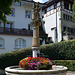 Brunnen der Stärke in Fribourg/Freiburg