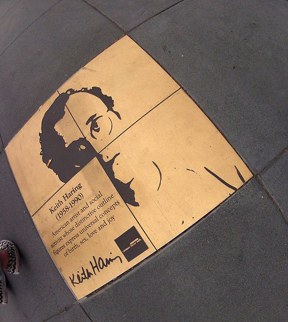Keith Haring - Sidewalk In The Castro (0329)