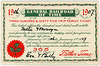 General Railroad of Time Ticket, January 1, 1906, to January 1, 1907