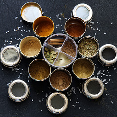 Herbs and Spices with a sprinkling of salt for the Sunday Challenge