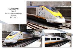Eurostar 3010  - Stratford International - London - 26.5.2015