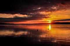 Sunset - Dungarvan Bay, Waterford, Ireland.