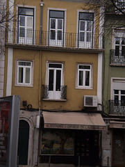 Torn balcony?