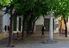 Shady square in Jerez