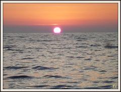 ** Coucher de soleil sur la Corse **