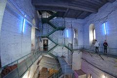 Im Turm von St. Katharinen/ Hamburg.