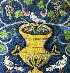 Mosaïque de Ravenne, Italie